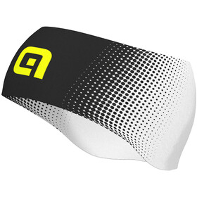 Alé Cycling Dots Headband black-fluo yellow